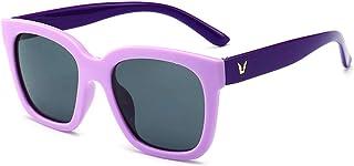 DishyKooker UV400 Square Shape Polarized Silica Gel Sunglasses for Children