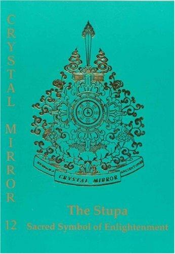 Stupa: Sacred Symbol of Enlightenment Crystal Mirror 12
