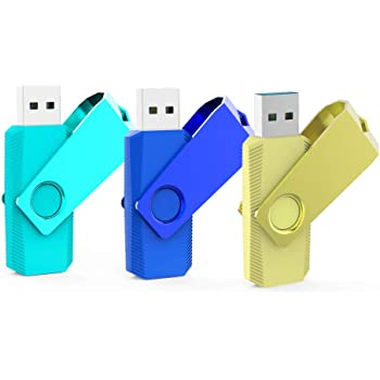 KOOTION Memorias USB 64GB 3.0 USB Pendrive 64 Gigas Flash Drive 64GB 3 Piezas Lote Pincho