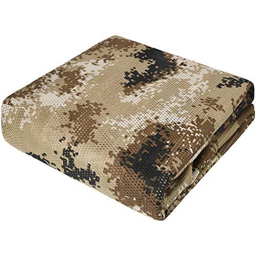 QHW Filet de Camouflage 300D, Filet de décoration de clôture de Cour de Jardin de Salon, Protection de la Vie privée, auvent de Camping en Plein air, Plusieurs Tailles (personnalisées)