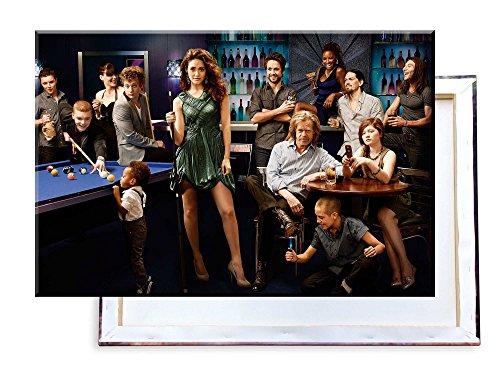 Unified Distribution Shameless TV Serie - 100x70 cm - Bilder & Kunstdrucke fertig auf Leinwand aufgespannt und in erstklassiger Druckqualität
