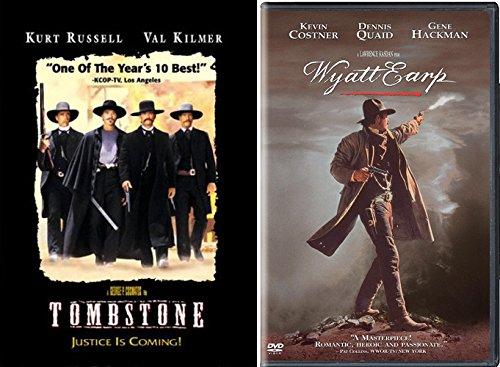The Stories Of Wyatt Earp Classic Western Double DVD pack: Wyatt Earp & Tombstone (Kurt Russell/ Val Kilmer/ Kevin Costner/ Den
