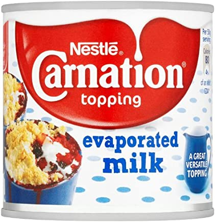 Nestl? Carnation Topping Evaporated Milk 170 g (Pack of 24)