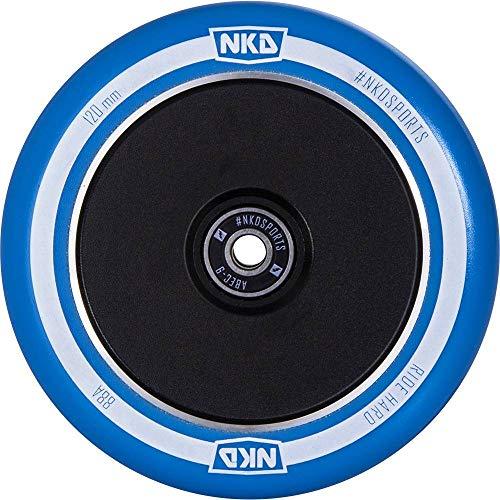 nkd Stunt-Scooter Rolle Diesel 120mm schwarz/Pu blau Hollow-Core