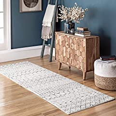 """Designed with resilience against everyday wear-and-tear, this rug is kid and pet friendly and perfect for high traffic areas of your home such as living room, dining room, kitchen, and hallways Sleek and functional 0.37"""" pile height allows for conven..."""