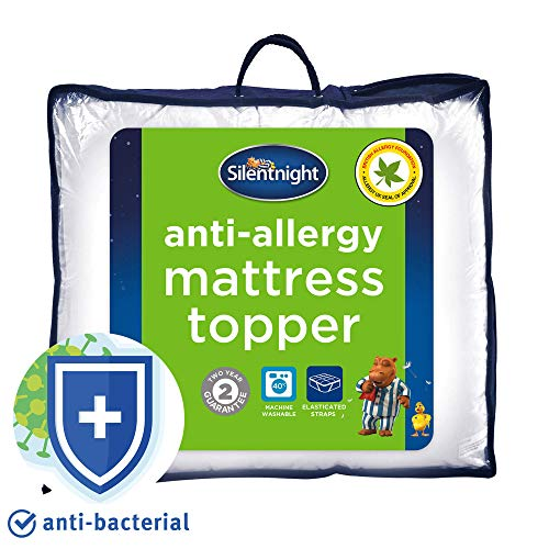 Silentnight Anti-Allergy Mattress Topper, Super King