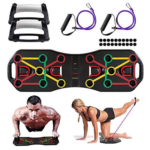 Baozun Liegestützgriffe Fitnessgeräte für Zuhause Rückentrainer Fitnessgeräte