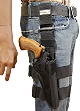 Barsony New Tactical Leg Holster for Ruger Super Blackhawk Right