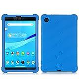 SsHhUu Funda para Lenovo Tab M7, Funda de Silicona Protectora a Prueba de Golpes para niños para Lenovo Tab M7 (2nd Gen) 2019 Tablet (TB-7305L/TB-7305X), Azul