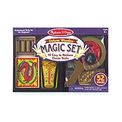 Best Toys for 8 Year Old Girls-Melissa & Doug Deluxe Magic Set