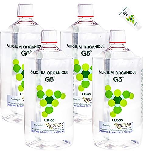 G5 Silicium Pack 4 litres + 1 échantillon Gel 10 ml Gratuit