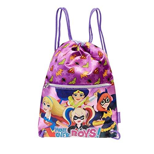 Karactermania DC Super Hero Girls Sacca, 35 cm, Viola