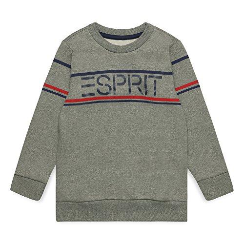 ESPRIT KIDS Jungen RM1503408 Sweatshirt, Grau (Dark Heather Grey 201), 128