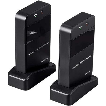Monoprice Blackbird Pro WIHD 60GHz Uncompressed Wireless Professional HDMI Extender, 30 Meter Range