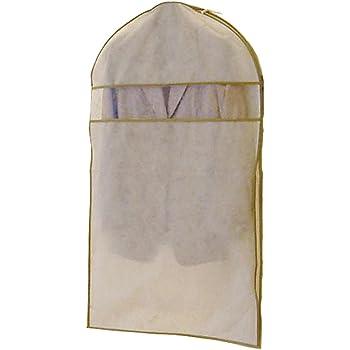 エーワン 洋服カバー WORTHY WORK プレーン サイドファスナーカバー(スーツ・ジャケット用) 3枚組 SA310
