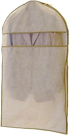 エーワン 洋服カバー WORTHY WORK プレーン サイドファスナーカバー(スーツ?ジャケット用) 3枚組 SA310