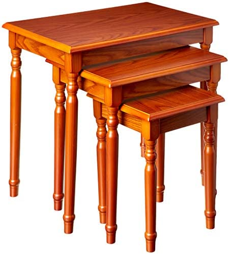 Best Frenchi Home Furnishing Nesting Table, 3-Piece