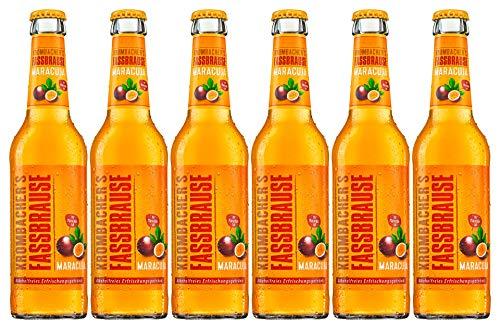 6 Flaschen Krombacher Fassbrause Maracuja a 330ml inclusiv 0.48€ MEHRWEG Pfand Bier inc. Pfand