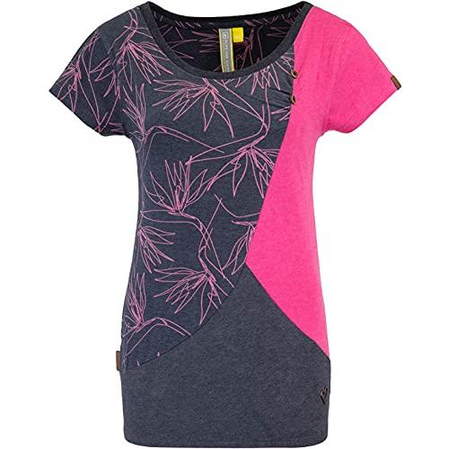 Alife and Kickin Zoe Women Shirt (S, Fuchsia)