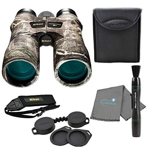 Nikon 10x42 ProStaff 7S Binocular Truetimber Kanati Bundle with Lens Pen and Lumintrail Lens Cloth