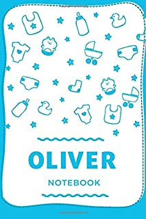 "Oliver Notebook: Oliver means ""olive tree"" and it is a Latin name, Personalized Name Journal, Lined College Ruled, 110 Pag..."