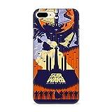 Estuche para iPhone 7 Plus/ 8 Plus Star Wars, Guerra de Las Galaxias, Original con Licencia Oficial, Carcasa, Funda, Estuche de Material sintético TPU-Silicona, Protege de Golpes y rayones