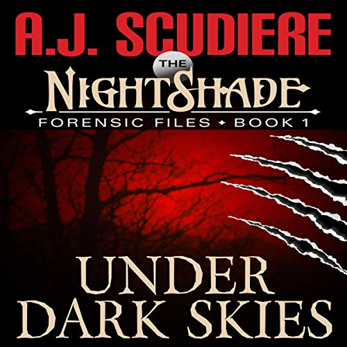 The NightShade Forensic Files: Under Dark Skies audiobook cover art