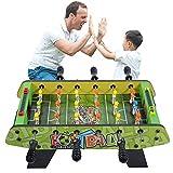 LANGWEI Mini Mesa De Futbolín De 19 Pulgadas De 19 Pulgadas Arcade Y Juegos De...