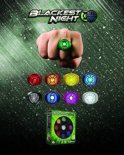 Obtén lo ultimo DC Comics Comics Comics negroest Night Repliken Set Power Ring Spectrum  auténtico