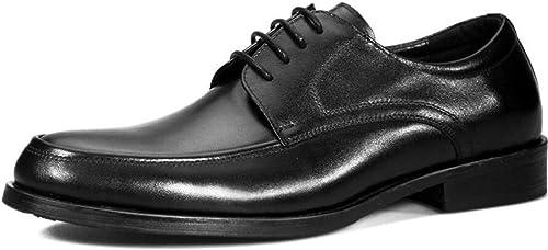 FLYSXP zapatos De Oficina De Boda Formal Formal De Cuero De Grano Completo para hombres zapatos De Cuero Casuales zapatos De Cuero para Hombre De Cuero Superior botas de Cuero de los hombres