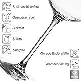 Leonardo Puccini Rieslingglas, 6-er Set, 400 ml, spülmaschinenfest, Teqton-Kristallglas, 069540 - 3