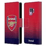 Head Case Designs sous Licence Officielle Arsenal FC Effacer Crête 2 Coque en Cuir à Portefeuille...