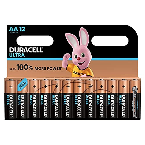 Duracell Ultra AA Batteries, Pac...