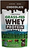 Chocolate Protein Powder - Premium Ingredients - No Artificial Chemicals or Flavorings - Grass Fed...