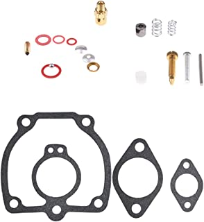 CQYD New Carburetor Rebuild Kit for International IH Farmall Super H M W4 O4 W6 O6 Tractor Carb Replace Tool