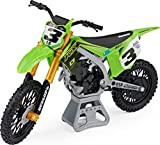 Supercross, Authentic Eli Tomac 1:10 Scale Collector Die-Cast Motorcycle Replica with Display Stand