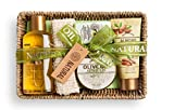 IDC Institute Natural Oil Tray-productos para baño-5 piezas