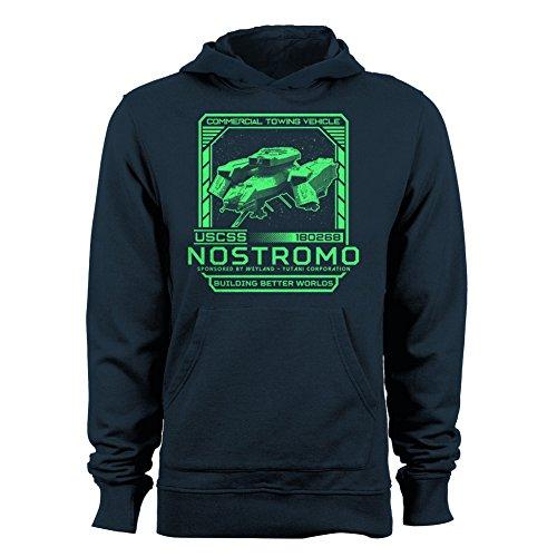 GEEK TEEZ USCSS Nostromo Men's Hoodie Navy...