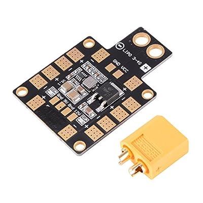 XCSOURCE XT60 PDB Power Distribution Board 3A 5V/12V Dual-way BEC 6 ESC for Racing Drone Quad FPV RC415