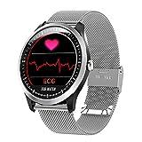 QTEC Montres connectées ECG PPG Montre Intelligente avec Électrocardiographe Écran ECG Holter ECG Moniteur Cardiaque De La Pression Artérielle Femmes Smart Bracelet