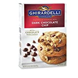 Dark Chocolate Chip Cookie Mix Ghirardelli Brand (3 Boxes)