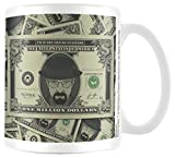 Empire Merchandising 694331 Serie de TV Breaking Bad Heisenberg Wanted Taza tamaño, diámetro 8,5 Horas 9,5 cm