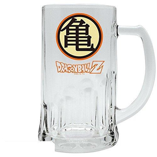 Dragonball Z - glazen bierpul - muten Roshi - Kame Huis Logo - 500 ml