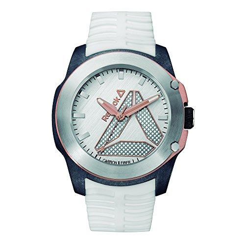 Reloj Reebok Análogo TireFlip para Hombre 47mm RD-TFL-G2-CSIW-W3 Blanco