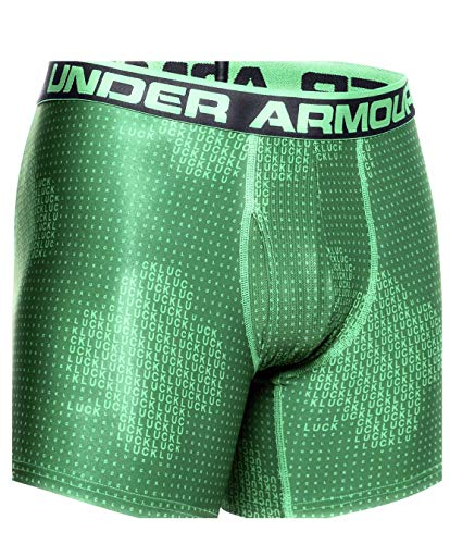 Under Armour O Series 6in Novelty Brief - Men's Team Kelly Green, M