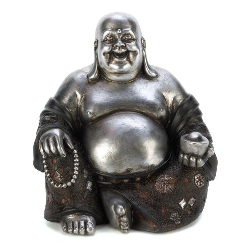 Koehler Home Decor Happy Sitting Buddha Statue