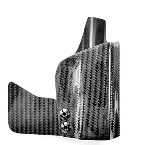 """Real Carbon Fiber Pocket Holster, Not Kydex, for Sig Sauer P365 with or Without Lima, Foxtrot or Crimson Trace LG-422G (P365 W/Optic Cut, Both 4-1/2"""" & 5"""" Wings)"""