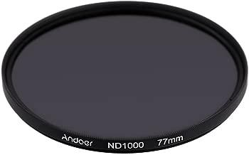 Andoer   77mm ND1000 Stop Fader Neutral Density Filter for Nikon Canon DSLR Camera