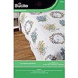 Bucilla Floral Splendor Quilt Blocks, 6 Piece