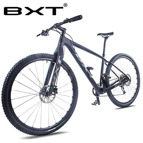 BXT Carbon MTB Bike Mountain Bike 29er Double Disc Brake 111 speeds Carbon Bike 29inch Thru Axle Fork...